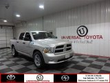 2012 Bright Silver Metallic Dodge Ram 1500 Express Crew Cab #86980576