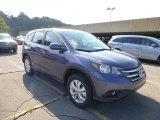 2014 Twilight Blue Metallic Honda CR-V EX AWD #86981033