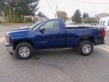 2014 Blue Topaz Metallic Chevrolet Silverado 1500 WT Regular Cab 4x4 #86980566