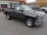 2014 Tungsten Metallic Chevrolet Silverado 1500 WT Regular Cab 4x4 #86980565