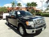 2010 Tuxedo Black Ford F150 Lariat SuperCrew #86980654