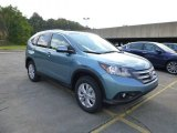 2014 Mountain Air Metallic Honda CR-V EX-L AWD #86981019
