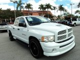 2004 Bright White Dodge Ram 1500 Laramie Quad Cab #86980653