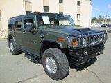 2003 Hummer H2 Sage Green Metallic