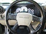 2003 Hummer H2 SUV Steering Wheel