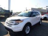 2011 White Platinum Tri-Coat Ford Explorer XLT 4WD #86980915