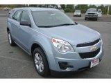 2014 Silver Topaz Metallic Chevrolet Equinox LS #86980994