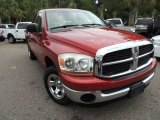 2006 Inferno Red Crystal Pearl Dodge Ram 1500 SLT Quad Cab #87029028