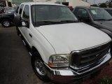 2003 Oxford White Ford F250 Super Duty Lariat Crew Cab #87029026