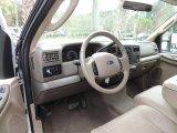 2003 Ford F250 Super Duty Lariat Crew Cab Medium Parchment Beige Interior