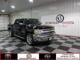 2013 Black Chevrolet Silverado 1500 LT Crew Cab #87028938