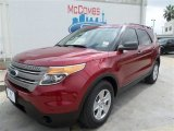 2014 Ruby Red Ford Explorer FWD #87028929