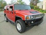 2004 Hummer H2 Sunset Orange Metallic