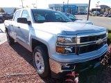 2014 Silver Ice Metallic Chevrolet Silverado 1500 LT Crew Cab 4x4 #87051005