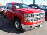 2014 Victory Red Chevrolet Silverado 1500 LT Crew Cab 4x4 #87051010