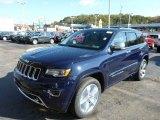 2014 True Blue Pearl Jeep Grand Cherokee Overland 4x4 #87057620