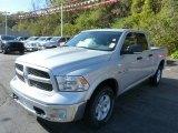 2014 Bright Silver Metallic Ram 1500 Big Horn Quad Cab 4x4 #87057617