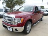 2013 Ruby Red Metallic Ford F150 XLT SuperCrew #87056867