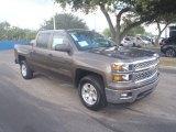 2014 Brownstone Metallic Chevrolet Silverado 1500 LT Crew Cab #87058330