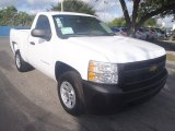 2013 Summit White Chevrolet Silverado 1500 Work Truck Regular Cab #87058328