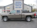 2014 Brownstone Metallic Chevrolet Silverado 1500 LT Double Cab 4x4 #87058316