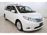 2011 Blizzard White Pearl Toyota Sienna Limited AWD #87057828