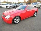 2001 Magma Red Mercedes-Benz SLK 320 Roadster #87057570