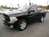 2012 Black Dodge Ram 1500 ST Regular Cab 4x4 #87057568