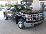 2014 Black Chevrolet Silverado 1500 LT Regular Cab 4x4 #87058290