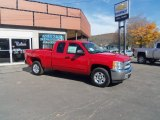 2013 Victory Red Chevrolet Silverado 1500 LT Extended Cab 4x4 #87056833