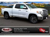 2014 Super White Toyota Tundra Limited Double Cab 4x4 #87056545