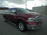 2014 Deep Cherry Red Crystal Pearl Ram 1500 Laramie Crew Cab 4x4 #87058271