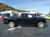 2014 Black Chevrolet Silverado 1500 LT Double Cab 4x4 #87057036