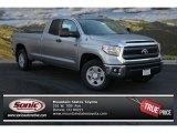 2014 Silver Sky Metallic Toyota Tundra SR5 Double Cab #87056533