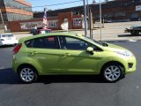 2013 Lime Squeeze Ford Fiesta SE Hatchback #87057030