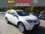 2013 Blizzard White Pearl Toyota RAV4 Limited AWD #87056816