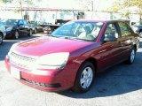 2005 Sport Red Metallic Chevrolet Malibu LS V6 Sedan #87057532