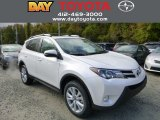 2013 Blizzard White Pearl Toyota RAV4 Limited AWD #87056811