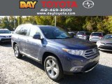 2013 Shoreline Blue Pearl Toyota Highlander Limited 4WD #87056810