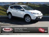2013 Blizzard White Pearl Toyota RAV4 Limited AWD #87056507