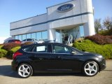 2013 Tuxedo Black Ford Focus Titanium Hatchback #87056800