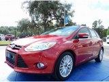 2012 Red Candy Metallic Ford Focus SEL 5-Door #87057011
