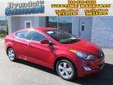 2013 Red Hyundai Elantra GLS #87056483