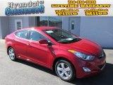 2013 Red Hyundai Elantra GLS #87056482