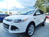 2014 White Platinum Ford Escape Titanium 2.0L EcoBoost #87056991