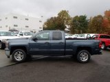 2014 Blue Granite Metallic Chevrolet Silverado 1500 LT Double Cab 4x4 #87058237