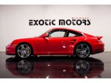 2008 Guards Red Porsche 911 Turbo Coupe #87058211