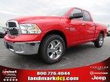 2014 Flame Red Ram 1500 SLT Quad Cab #87057190