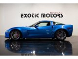 2008 Jetstream Blue Metallic Chevrolet Corvette Z06 #87058210