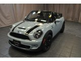 2014 Ice Blue Mini Cooper S Convertible #87056762